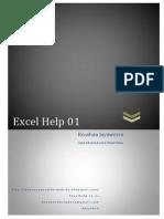 Excel Help 01