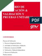 Proceso v&v Pruebas Unitarias