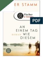 Peter Stamm - An Einem Tag Wie Diesem
