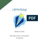 laporan biologi 2