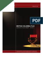 British Columbia Film Service Plan 2008/9 - 2010/11