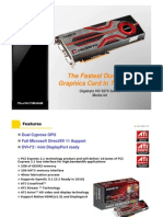 Gigabyte ATI Radeon HD 5970 graphics card (GV-R597D5-2GD-B)