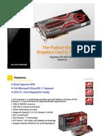 Gigabyte ATI Radeon HD 5970 graphics card (GV-R597D5-2GD-B)