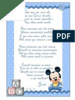 Boa Vindas MickeyBaby