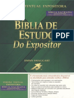 Biblia Do Expositor- Carta de Tiago
