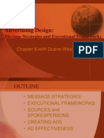 Advertising Design-Message_Executional Frameworks - Chp 8