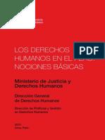 DDHH en El Peru Nociones Basicas