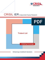 CRISIL Research Ier Report Trident 2014