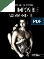 Solamente Tú - Imposible - María Lorena Guerra Méndez