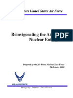 Reinvigorating the Air Force Nuclear Enterprise (2008)
