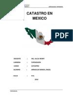 Monografia Catastro Mexico