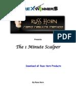 1 Minute Scalper