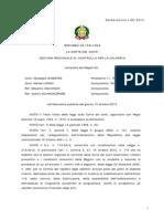 Calabria - Corte Dei Conti- Primo Semestre 2013