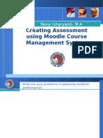 Workshop Moodle Assessment Ppt