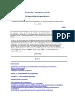 Desarrollo Cooperativo Agrícola - Manual de Trabajo