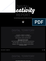 Digital Creativity Report 100 Inspiring Case Studies for 2014