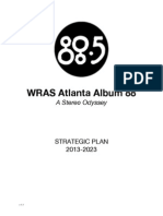 WRAS Atlanta Album 88 Strategic Plan 2013-2023 v1.1