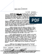 FBI Document