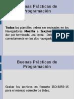 Buenas Practicas de Programacion