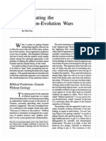 Negotiating the Creation-Evolution Wars