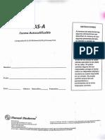 Cuestionario AMAS A