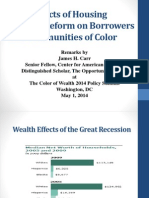 The Impacts of Housing Finance Reform on Borrowers and Communities of Color