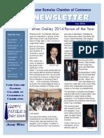 Romulus Chamber of Commerce June 2014 Newsletter
