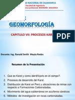 Procesos Karsticos Cap VII