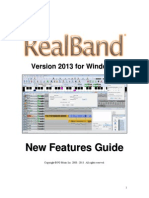 RealBand 2013 New Features Guide