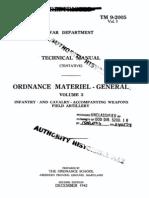 TM 9-2005 Ordnance Materiel (Vol. 3) - 1942