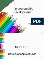 Enterpreneurship Development