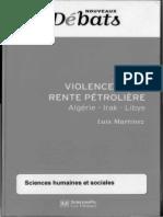 Violence de La Rente Petroliere