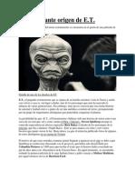 El Inquietante Origen de E.T.
