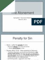 Atonement Talk