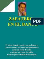 ZapateroenelBanco