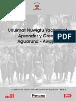 01-50 Cuaderno de Trabajo en Aguaruna-Awajun 14-06-2010