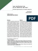Flemes y Radsek - Gobernanza multinivel de seguridad en America del Sur.pdf