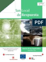 Plan Local de Respuesta - Barrio 04 de Septiembre (Final) (Rev. 01-11-13)