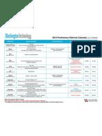 2010 Washington Technology editorial calendar
