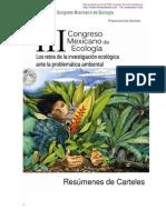 CongresoEcologiaResumenesCarteles
