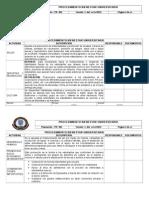 Manual de Procedimientos - Bienestar