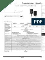 K. Sensor Fotoeléctrico Páginas 29-51 SPANISH (ESPAÑOL)