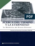 Louis Lavelle - Acerca Del Tiempo Y La Eternidad (La Dialéctica Del Eterno Presente)