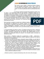 Manifesto da Plataforma en Defensa do Ensino Público