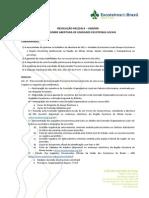 RESOLUÇÃO 002/2014 – UEB/MG