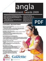 BANGLA ACHIEVMENT AWARD FLYER]