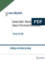SVB - Venture Debt 2004