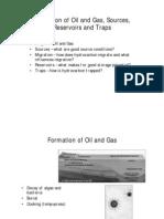 Hydrocarbon Formation