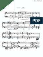 Sonata in B Minor sheet music