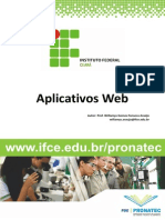 Apostila Aplicativo Web Pronatec
